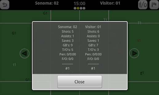 GameDay Stats - Lacrosse - screenshot thumbnail