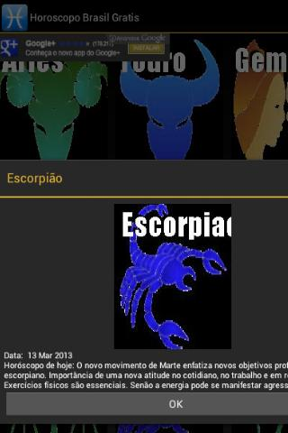 Horoscopo Brasil Gratis - screenshot