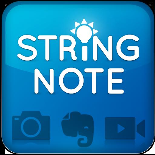 Stringnote MyIdeas in Evernote LOGO-APP點子