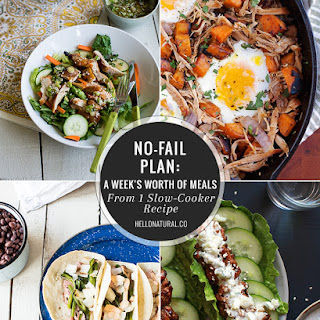 5-Day Slow Cooker Meal Plan