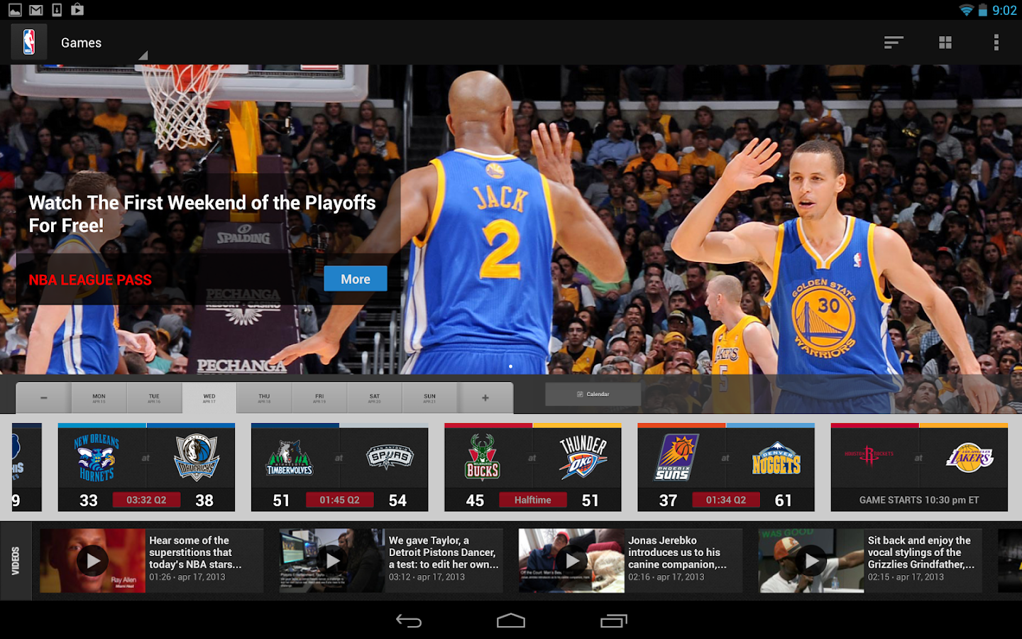 nba league pass how to connect device