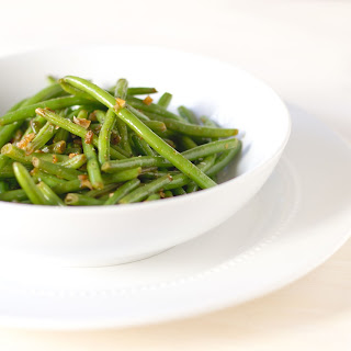 Sauteed Green Beans with Garlic.