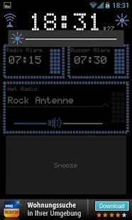 Radio Alarm Clock AtomaRadio - screenshot thumbnail