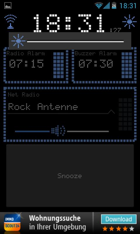 Radio Alarm Clock AtomaRadio- screenshot