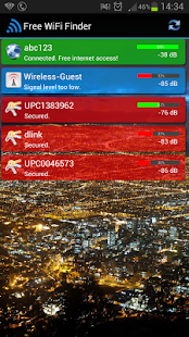 Free WiFi Internet Finder - screenshot thumbnail