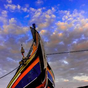 Sampan by Vj Lie - Transportation Boats ( landscape photography, fishing, boat, vj lie )