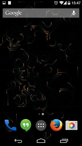 Sparks Live Wallpaper
