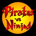 Pirates vs Ninjas TD logo