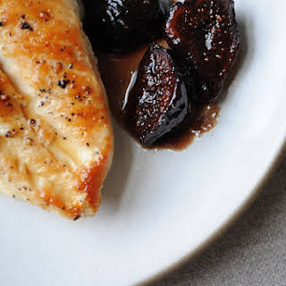 Chicken with Figs, Wine & Honey.