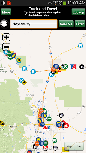 Truck Stops and Travel Plazas