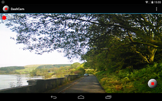Screenshot of DashCam (Dashboard Camera)