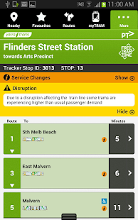 tramTRACKER - screenshot thumbnail