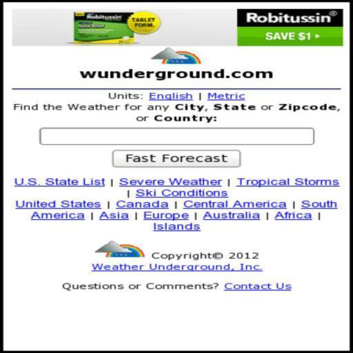 Weather Underground PWS