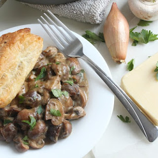 Mushroom and Chestnut Pie Recipe
