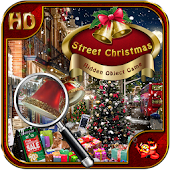 Street Christmas Hidden Object