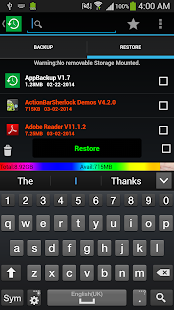AppBackup-App Backup Restore - screenshot thumbnail