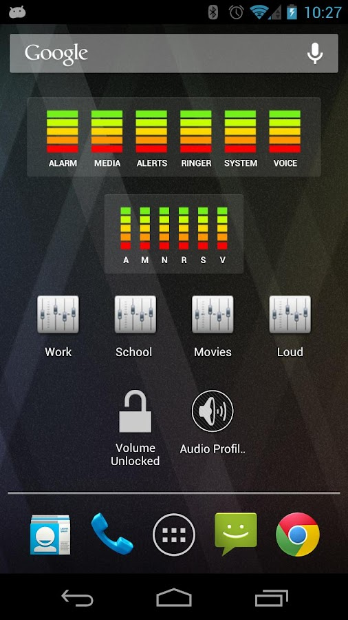 AudioManager- screenshot