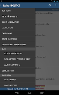 Idaho Politics- State Gov News - screenshot thumbnail