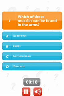 Human Body - 100Q Quiz - screenshot thumbnail