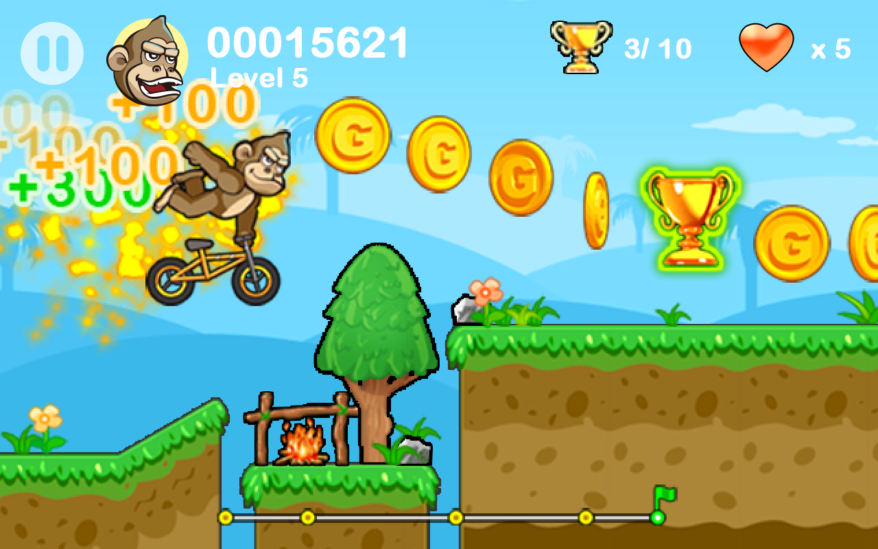 BMX Crazy Bike 2- screenshot