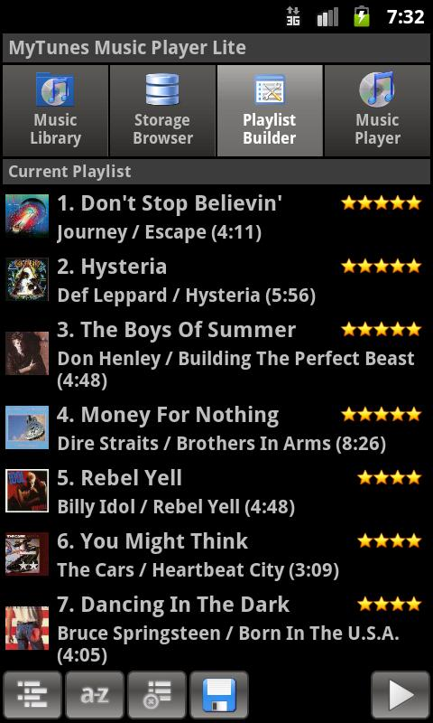MyTunes Music Player Lite- screenshot