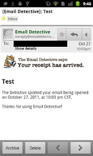 Email Detective - screenshot thumbnail