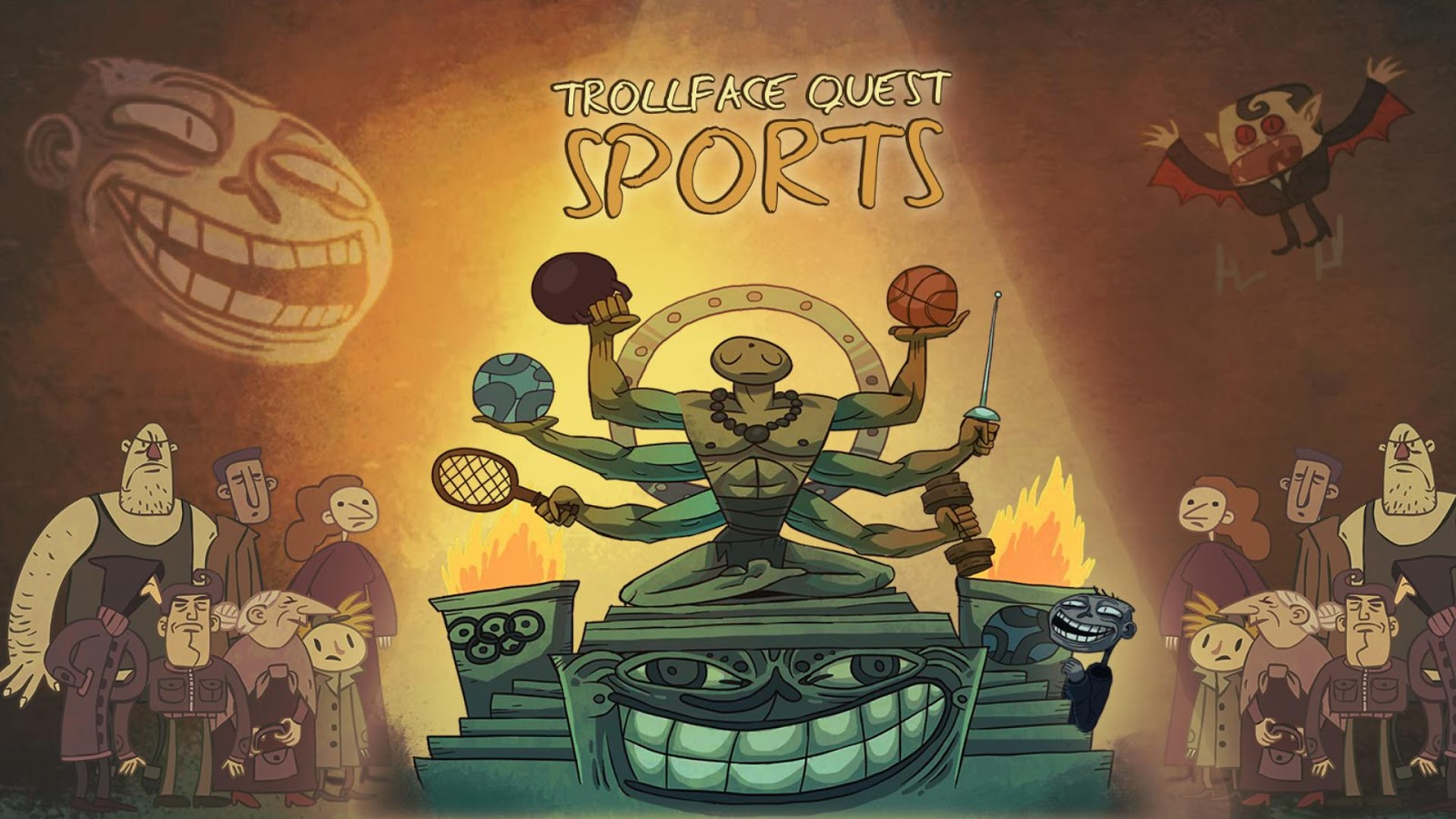 Troll face quest sports puzzle aplicaciones de android en google