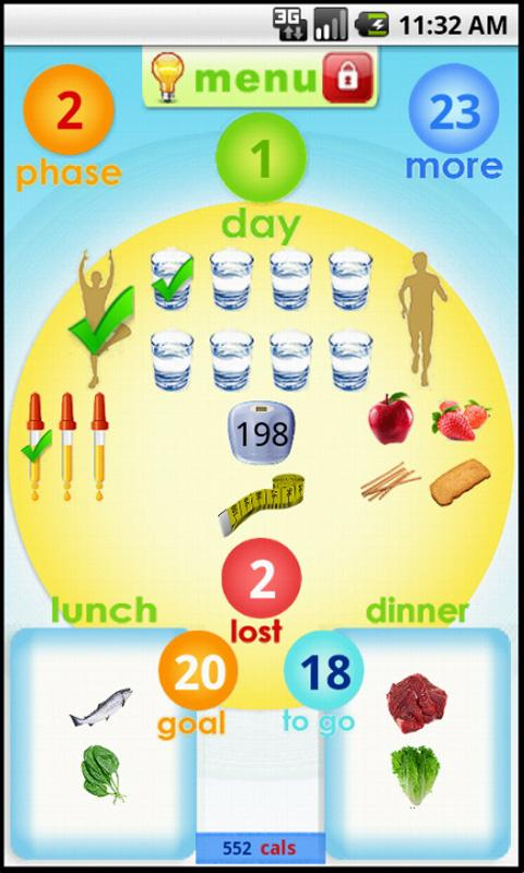 hCG Diet + - screenshot