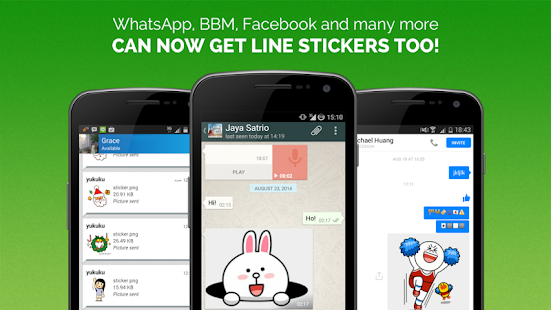 Stickerism—Share LINE stickers