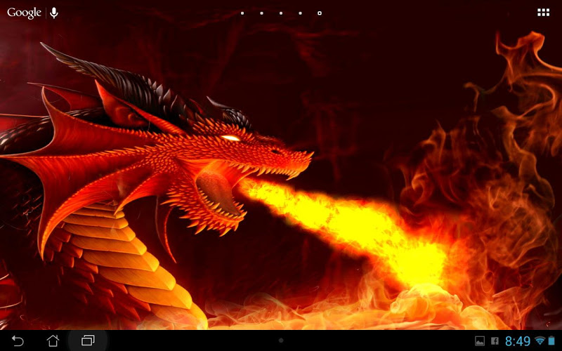 Fire Dragons Wallpapers Android App Screenshot