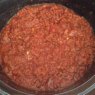 Slow Cooker Ground Beef Barbecue.