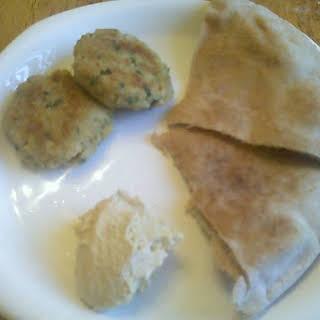 Healthy Baked Falafel.
