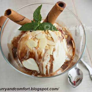 Easy Mocha Affogato- Italian Ice Cream Dessert (Throwback Thursdays).