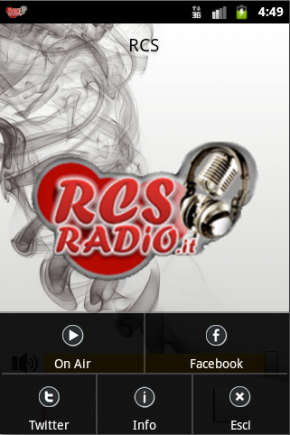 RCS Radio- screenshot
