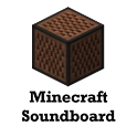 Minecraft Soundboard logo