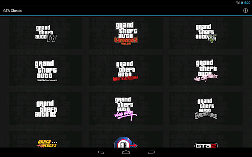 GTA Cheats - screenshot thumbnail