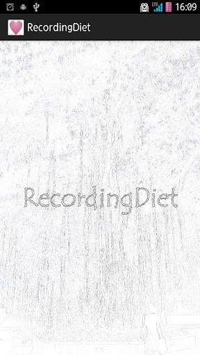 RecordingDiet