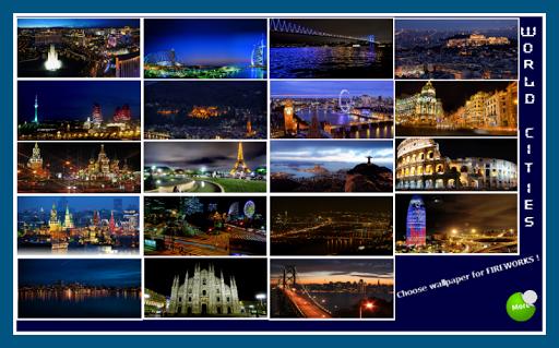 Fireworks World Cities