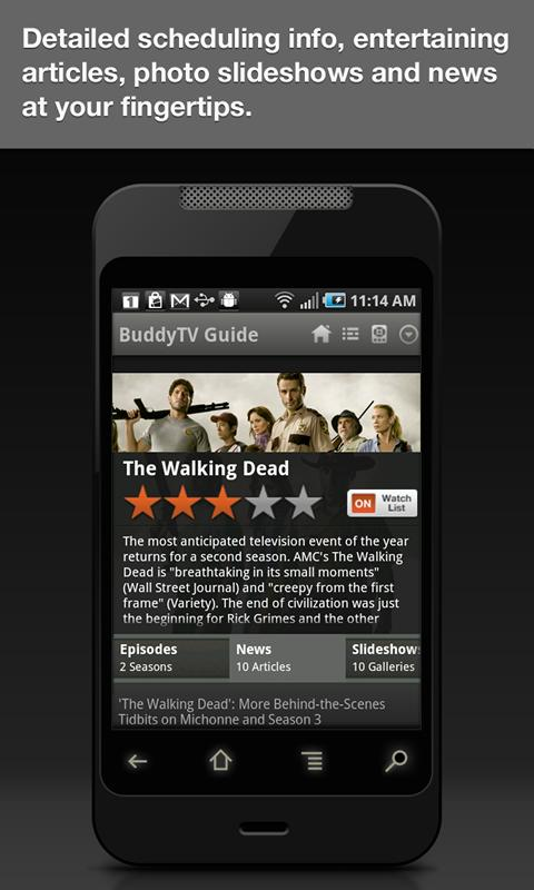 BuddyTV Guide - screenshot