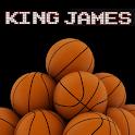 Lebron James Dunking Animated logo