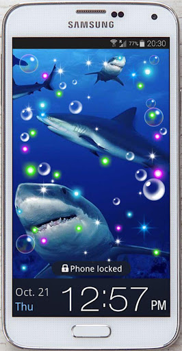 White Shark HQ live wallpaper