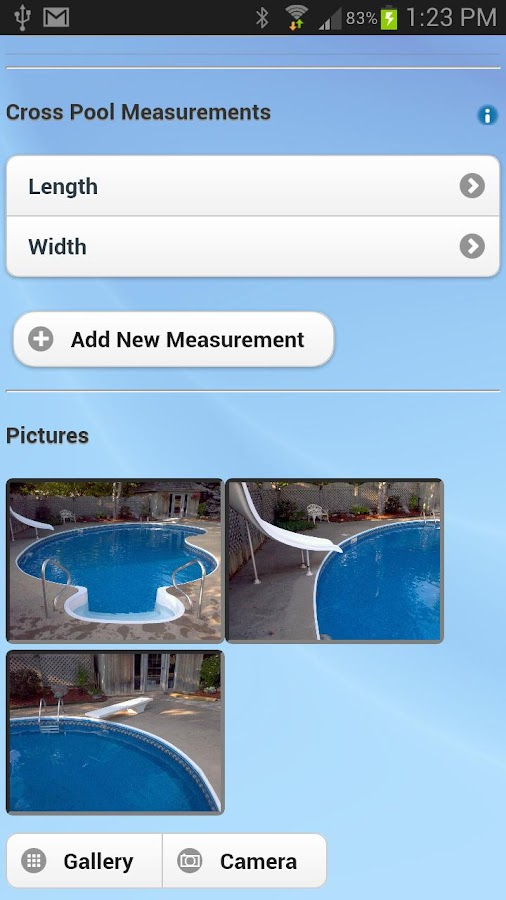 Ab my pool android apps on google play for Installing pool liner in cold weather