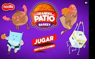 Screenshot of Basket Los grandes del patio