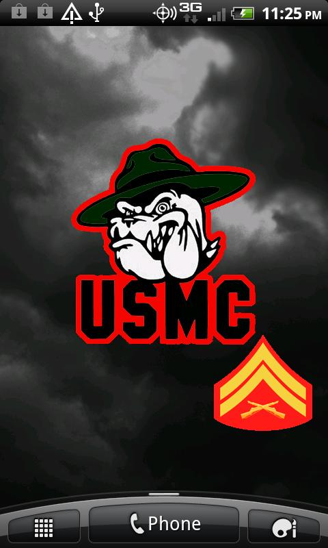 Marine Corps Live Wallpapers- screenshot