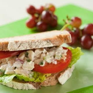 Tarragon Chicken Salad Sandwiches.