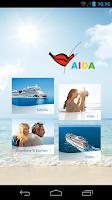 Screenshot of AIDA Cruises