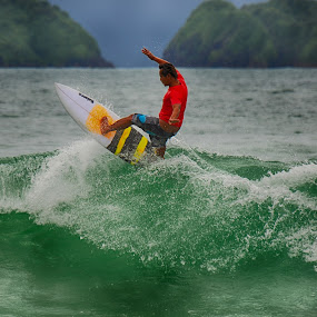 Surf Red Island by Simon Anon Satria - News & Events Sports ( jawa timur, banyuwangi, red island, indonesia, wisata, event, sports, festival, tourism, travel, surf, culture,  )