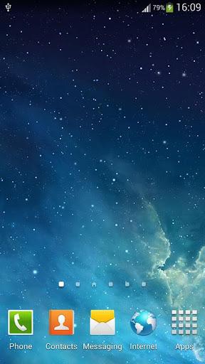 銀河Parallax動態桌布