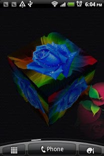 Rose 3D Live Wallpaper - screenshot thumbnail