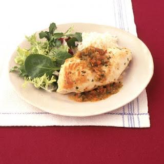 Chicken with Garlic-Pepper Sauce.